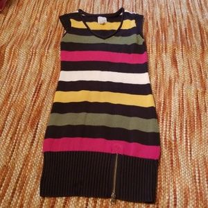 Girls 8 old navy sweater dress medium m